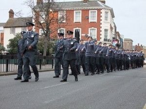 Sandy Cadets Join 70th Anniversary Celebrations