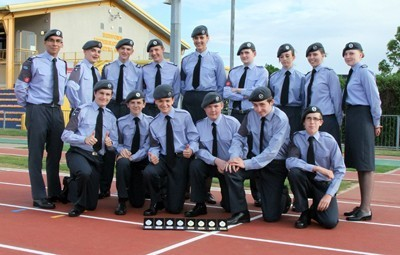 Sandy cadets take on competition